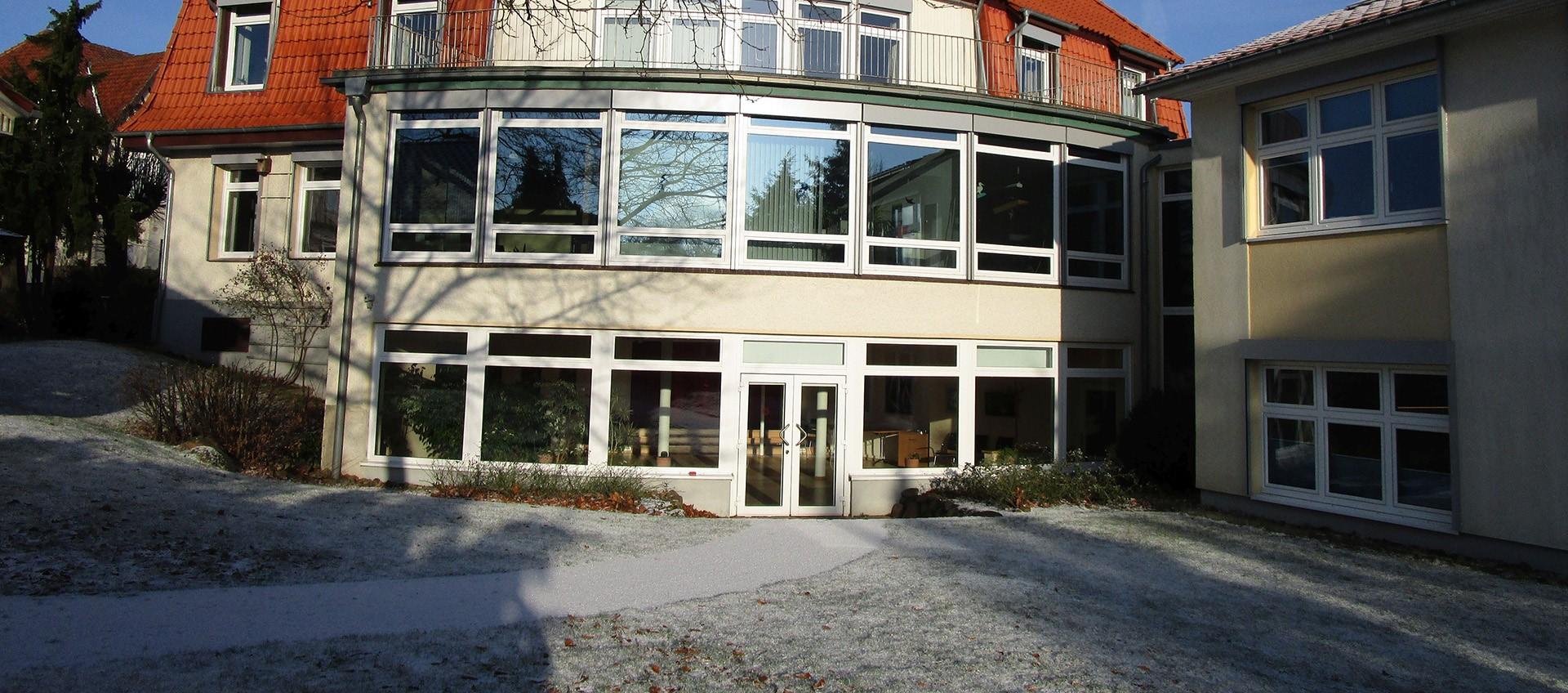 Winterliches Rathaus