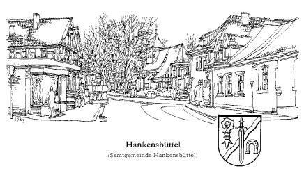 Strichzeichnung Hankensbüttel